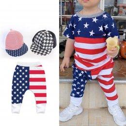 กางเกงขายาว supersoft cotton 100% ลายกะโหลกฟ้าผ่า / ลาย usa ธงชาติ