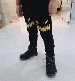 กางเกงเด็ก ขายาวปะเข่าปีศาจ