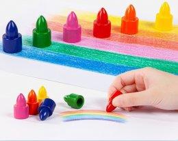 สีเทียนสวมนิ้ว 15 สี