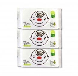 TINY NOSE ผ้าเปียกสูตรน้ำเกลือสำหรับเด็ก ห่อ 50แผ่น (ไซส์ใหญ่)