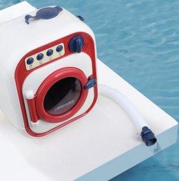 Mini washing machine for kid เครื่องซักผ้ามีเสียง มีไฟ ใส่น้ำได้!