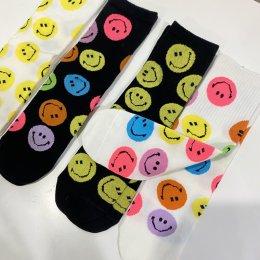 Set ถุงเท้า smiley sock 4 คู่