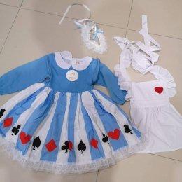 ชุดเจ้าหญิงอลิส Alice in Wonderland