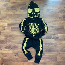 ชุด gold skeleton hoodie