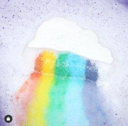 Rainbow Cloud Bath bombs