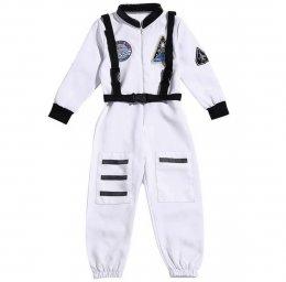 ชุดนักบินอวกาศ  สีขาว !!