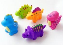 ของเล่นน้ำไดโนเสาร์ เซ็ต 5 ตัว