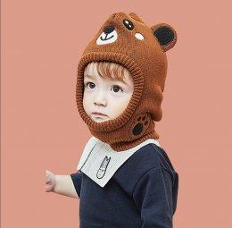 หมวกไหมพรมลายการ์ตูน 3d
