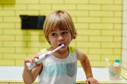แปรงสีฟันไฟฟ้าJack N' Jill (Buzzy Brush)