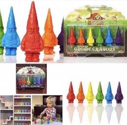 สีเทียนเด็กเล็ก GNOME CRAYONS (โนม-เครยอง)