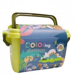 Coloring Dino Set ระบายสีไดโนเสา 64 ชิ้น