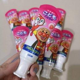 ยาสีฟัน Lion ลาย Anpanman สำหรับเด็กอายุ 9 เดือนขึ้นไป