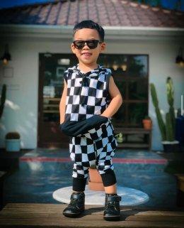 Checker hoodie
