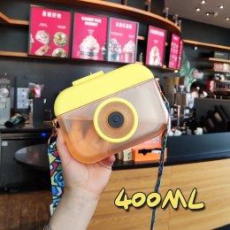 กระติกน้ำกล้องถ่ายรูป pastel camera