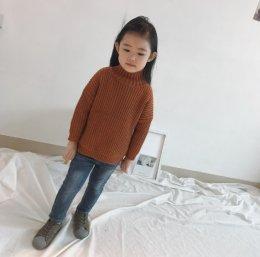 เสื้อไหมพรมคอเต่า สไตล์เกาหลี