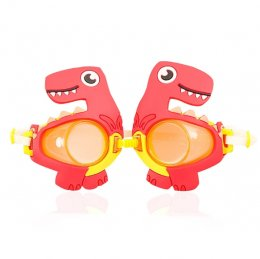 แว่นตาดำน้ำเด็ก Red Dino 3-9ขวบ
