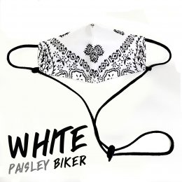 หน้ากากผ้า Paisley Biker Mask