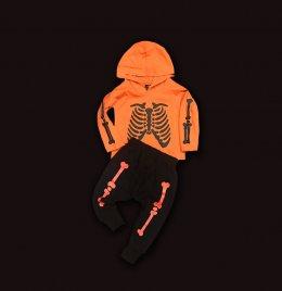 SET ชุดกะโหลก สายสตรีท skeleton halloween