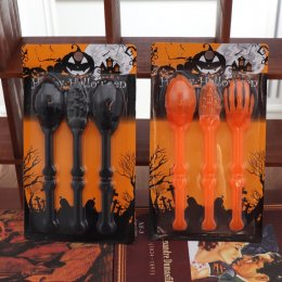 Halloween fork spoon set