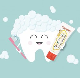 Jack N' Jill ยาสีฟันสำหรับเด็ก