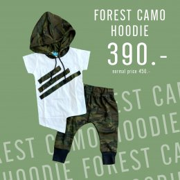 Forest camo hoodie set