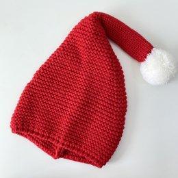 หมวกถัก santa
