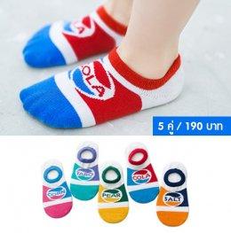 SET ถุงเท้าหลากสี
