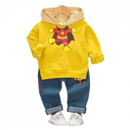 Anpanman hoodie with cool jean