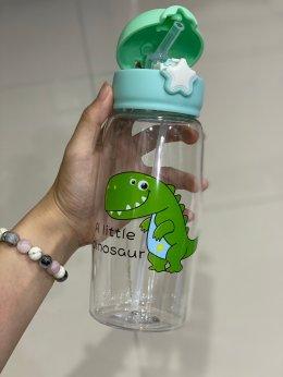 กระติกน้ำหลอดเด้ง dinosaur