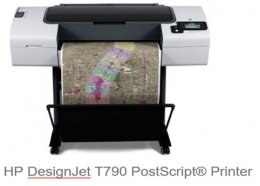 HP Designjet  T790 24-in PS E-PRINTER