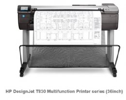 HP DesignJet T830 36in MFP Printer