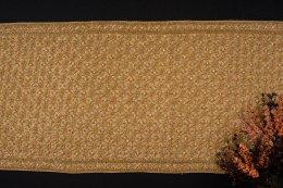 สไบผ้าโบราณแท้ปัก ลายพิกุล ห่ม 2 ชาย