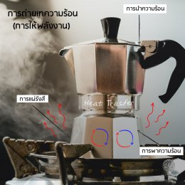 พลังงานความร้อน กับการคั่วกาแฟ  Heat Transfer in coffee Roaster Fundamental