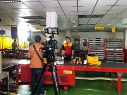 Behind DHL Packing