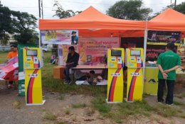 """25th Anniversary Concert """"Sriwichai Show"""" in front of District Office of TakuaPa, Pang-nga"""