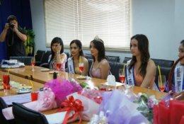 Miss Teen Thailand 2554 เยี่ยม AJ