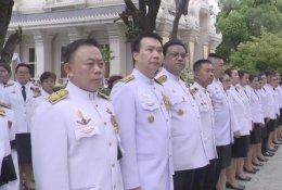พระราชพิธีทรงบำเพ็ญพระราชกุศลถวายผ้าพระกฐิน ณ. วัดราชาธิวาสวิหาร