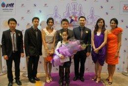 AJ สนับสนุนงาน Nine Entertain 2555