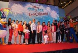 งานแถลงข่าว Disney on ice Let's celebrate 2555
