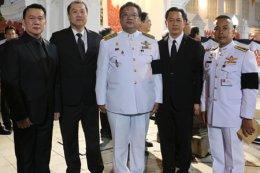 คุณ อภิสิทธิ์ ไทเศรษฐวัฒน์กุล ประธานเจ้าหน้าที่บริหาร บริษัท AJA ได้เป็นเจ้าภาพ บำเพ็ญกุศลศพ พลเอก เปรม ติณสูลานนท์