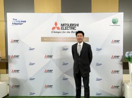 ุคุณจิรพันธ์ ตั้งชูทวีทรัพย์ ร่วมแสดงความยินดีสินค้ากลุ่มเครื่องปรับอากาศมิตซูบิชิ