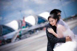 ++ Pre-wedding แนวสุด ๆ @สนามบินสุวรรณภูมิ ++