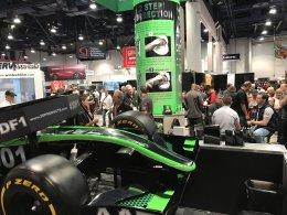 3D booth at 2017 SEMA SHOW Las Vegas USA