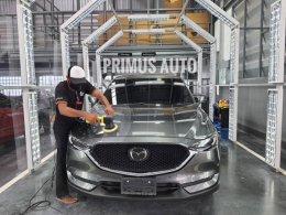 ทางบริษัทเข้าฝึกอบรมศูนย์รถยนต์ Mazda ในประเทศไทย ด้วยนวัตกรรมน้ำยาขัดเคลือบสีรถ 3D USA และเครื่องขัดสีรถ Shine Mate