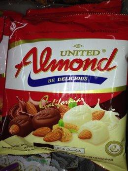 ช็อกโกแลต Almond