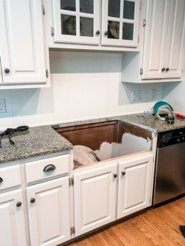 ซิงค์ล้างจาน , สะดืออ่างล้างจาน , อ่างล้างจานหลุด
