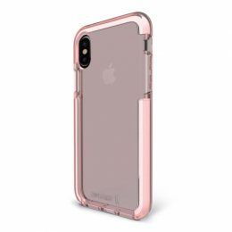 Bodyguardz Ace Pro Case for iPhone X - Pink/White