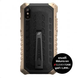 Element Case Black Ops for iPhone X - Desert Brown