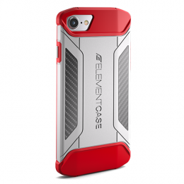 Element Case CFX for iPhone 7 / 8 - White/Red