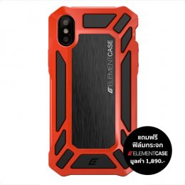 Element Case Roll Cage For iPhone X - Red